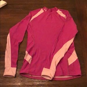Pink under armor base layer